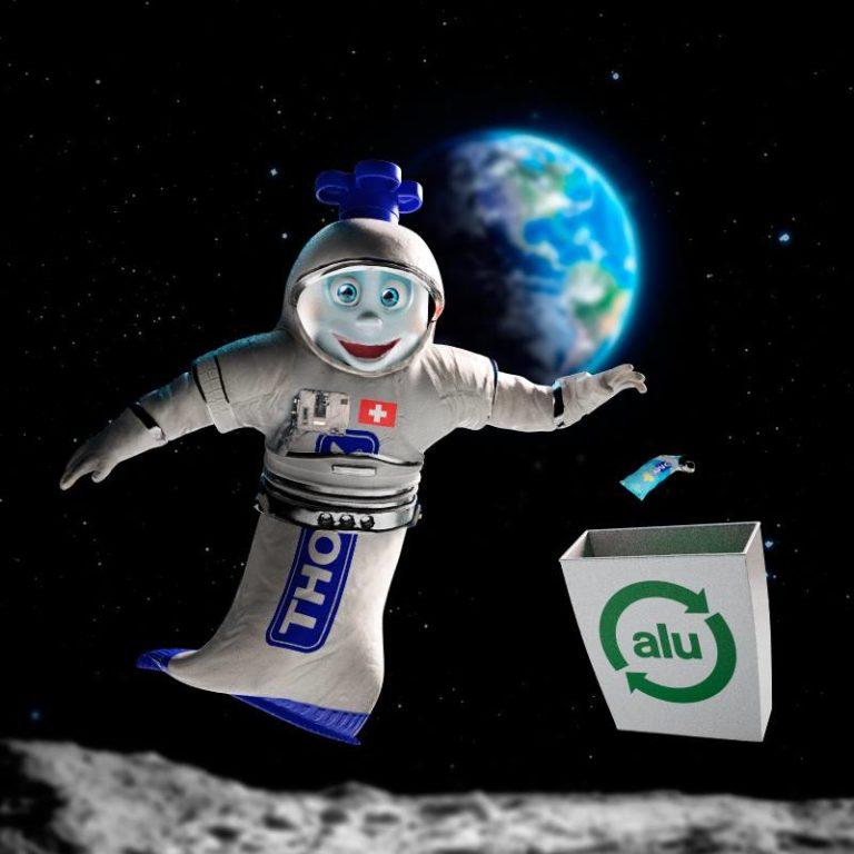 Recyclage dans l'espace