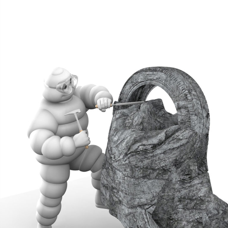Michelin – sculpture (Inefecto)